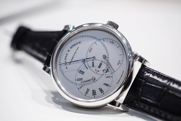 A. Lange & Sohne Richard Lange Jumping Seconds replica