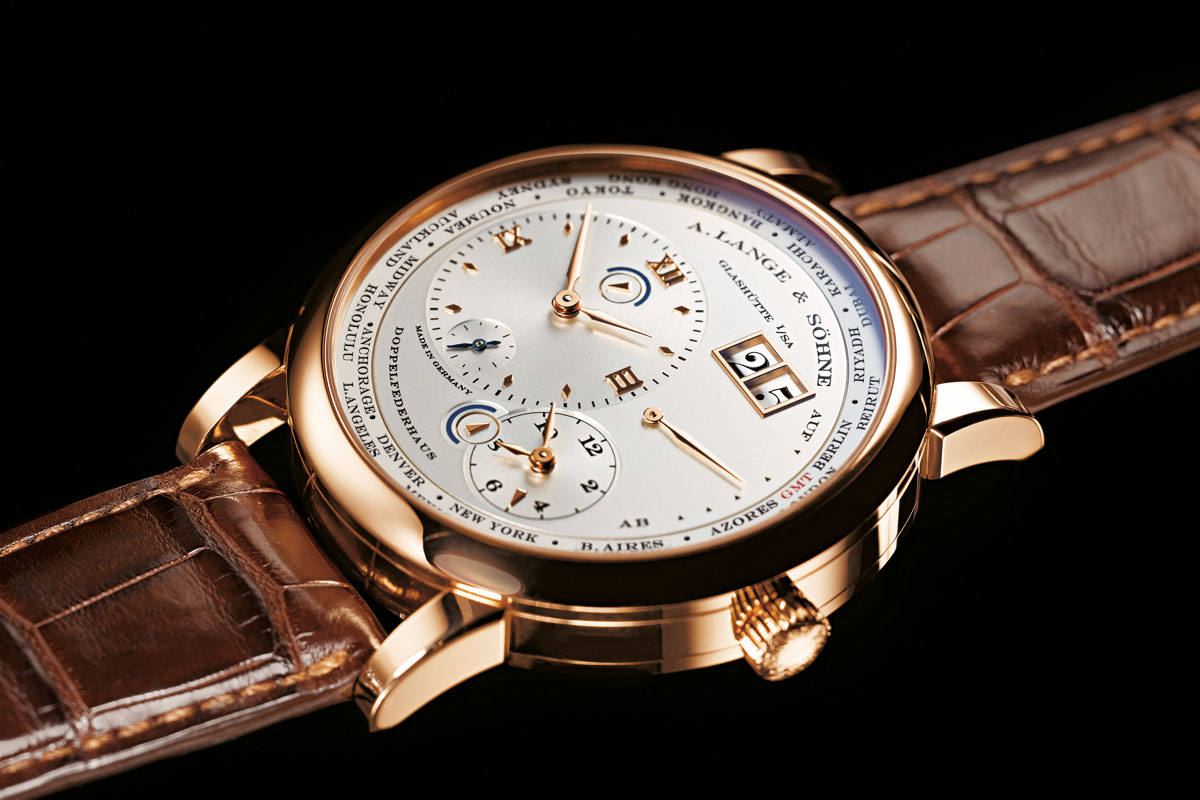 A. Lange & Sohne LANGE 1 TIME ZONE 'Como Edition' replica