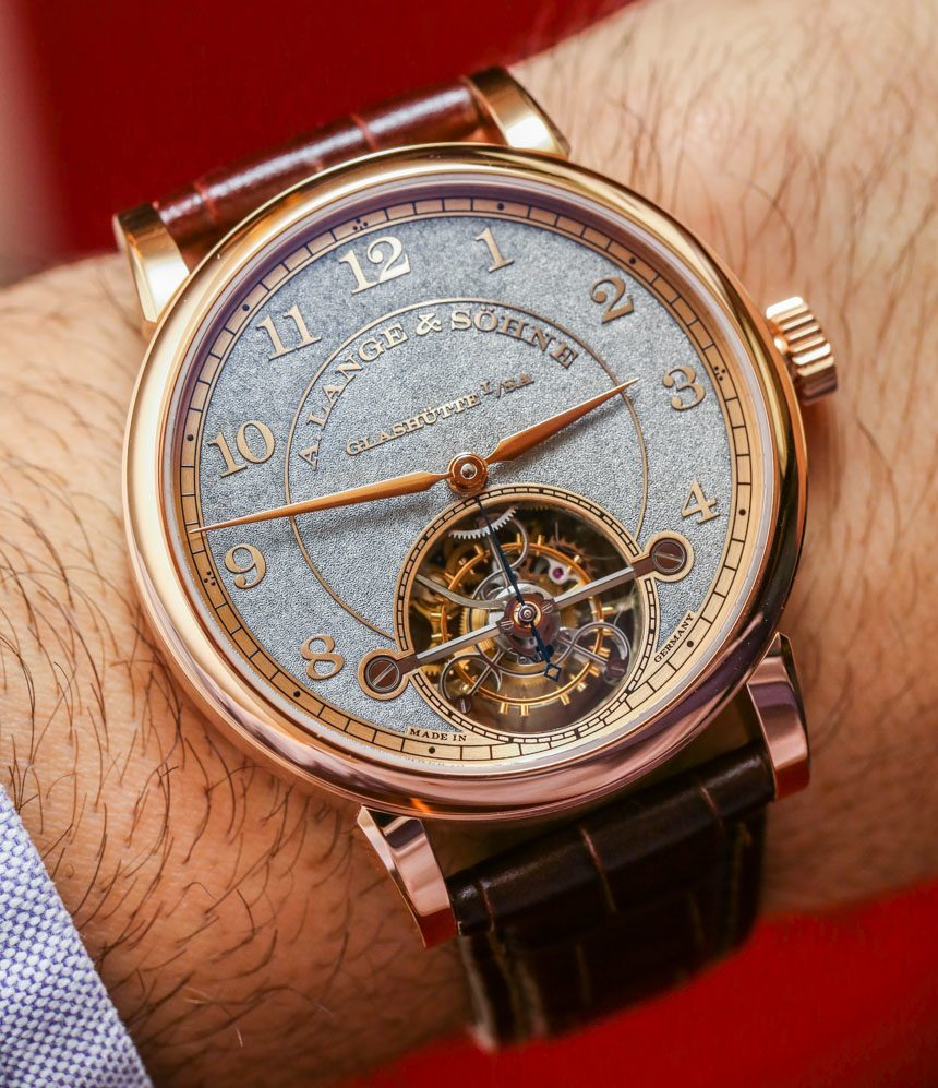 The Luxury And Elegant A. Lange & Sohne 1815 Tourbillon ...