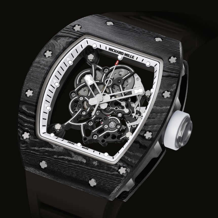 Richard Mille RM-055 Bubba Watson White Legend replica
