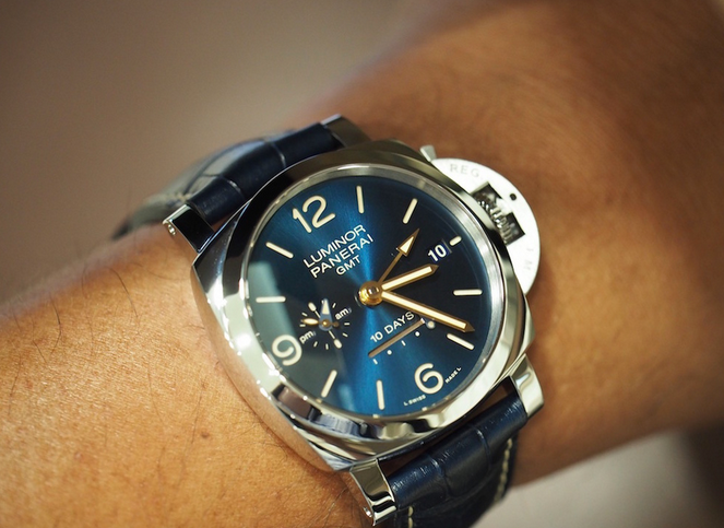 Panerai Luminor 1950 10 Days GMT Automatic PAM 689 replica