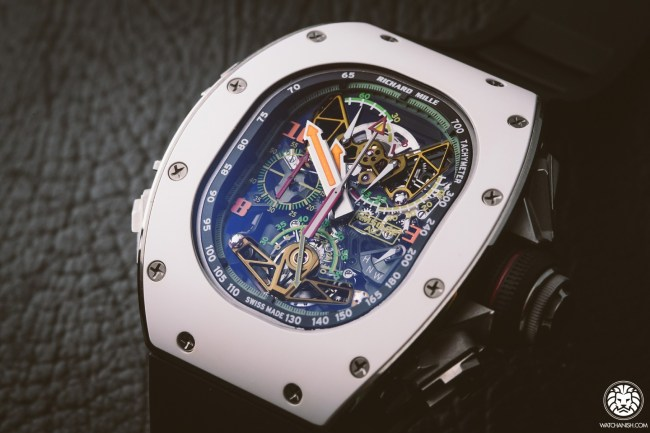 Richard Mille RM 50-02 ACJ Tourbillon Split Seconds Chronograph Quartz Replica Watch