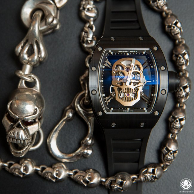 Watch About Skull In The Watch - Richard Mille, Bell&Ross, Hublot Replica Watches