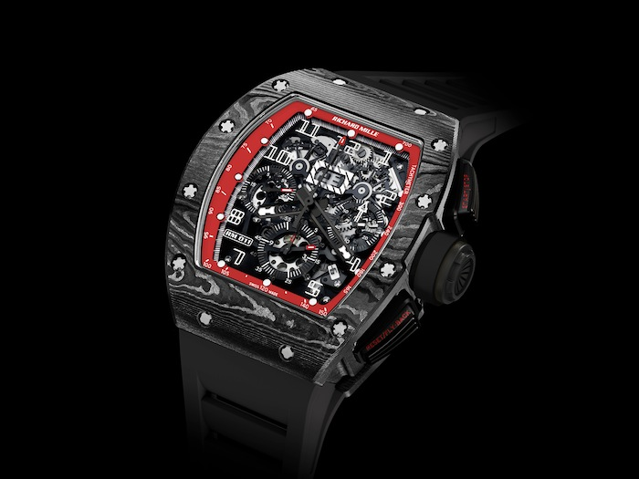 Swiss Made Richard Mille RM 011 NTPT Felipe Massa Flyback Chronograph Watch Replica