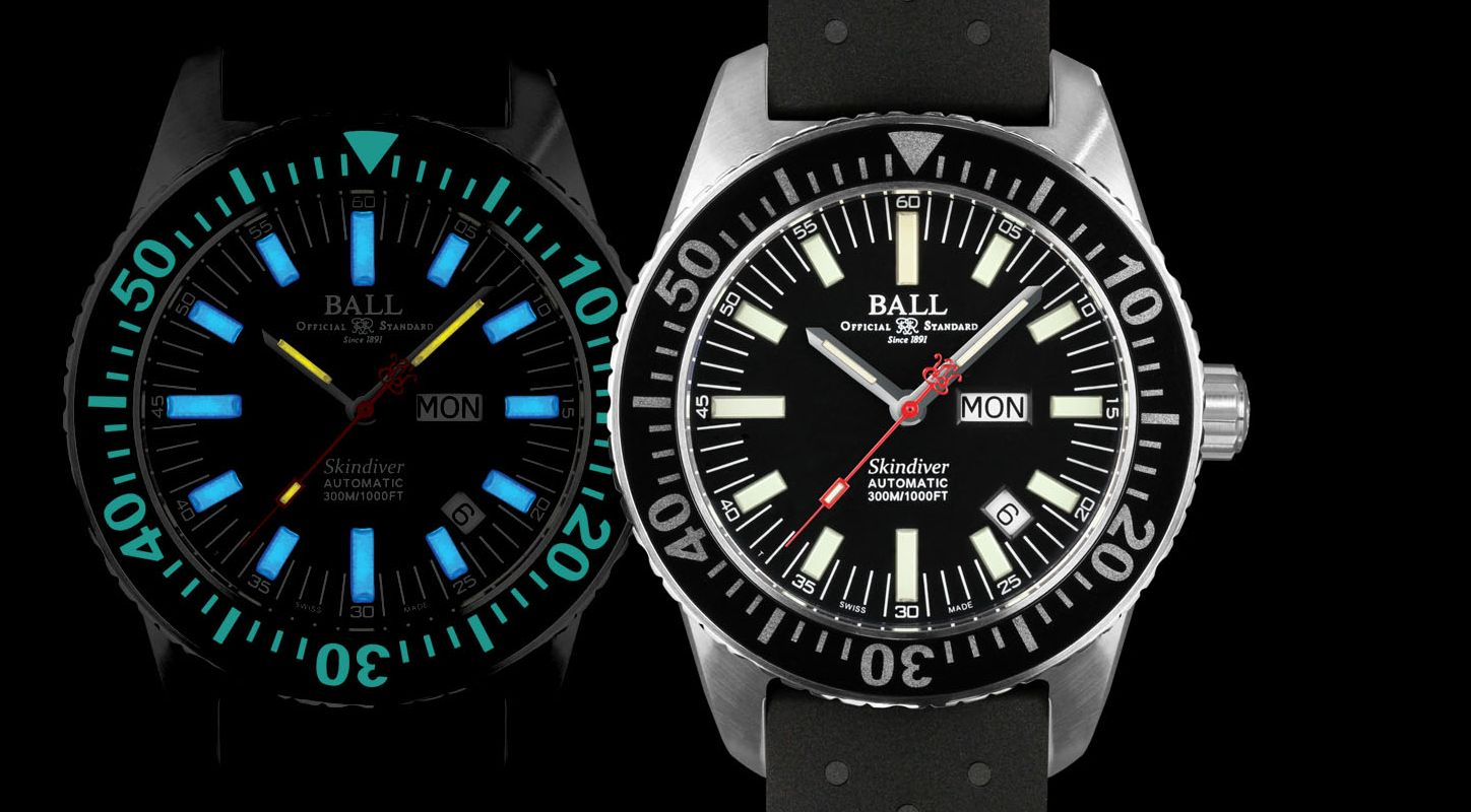 The Sporty Fake Ball Engineer Master II Skindiver Diving Watch