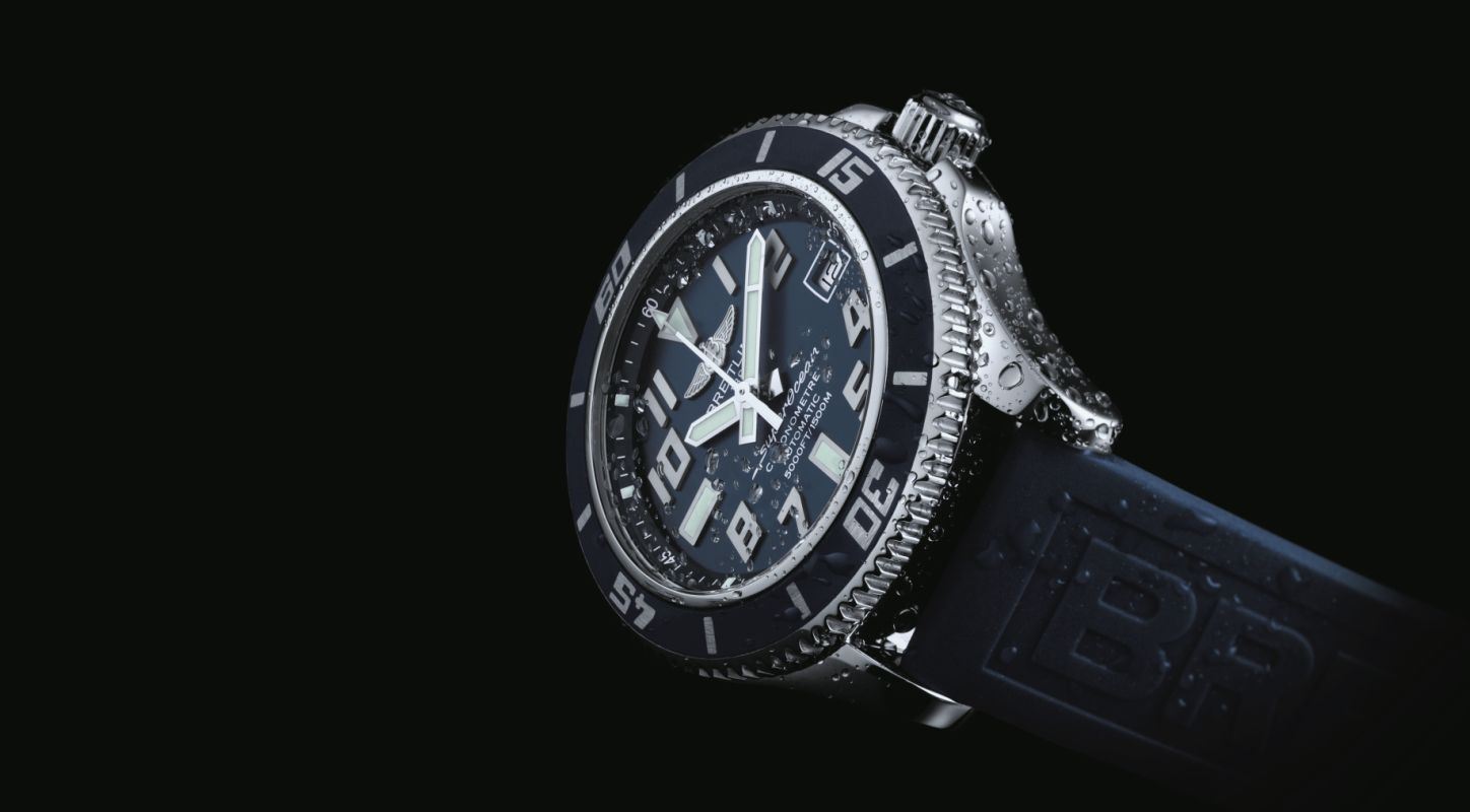 Take A Look At the Swiss Made Replica Breitling SuperOcean 42 Mariner Blue Watch