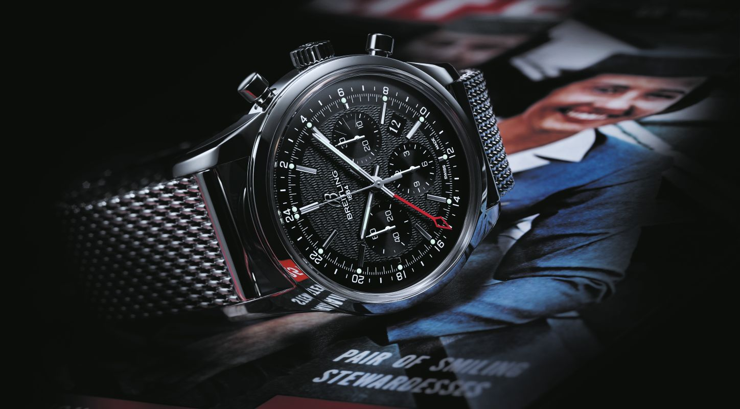 Interview with Swiss Breitling Transocean Chronograph GMT Limited Edition Watch