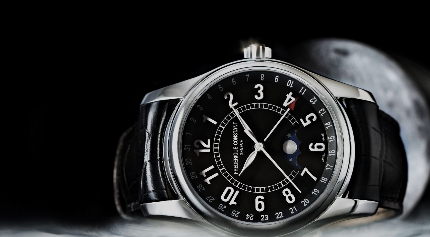 Promotion: The Casual and Cheap Frederique Constant Moon Timer Watch Fake