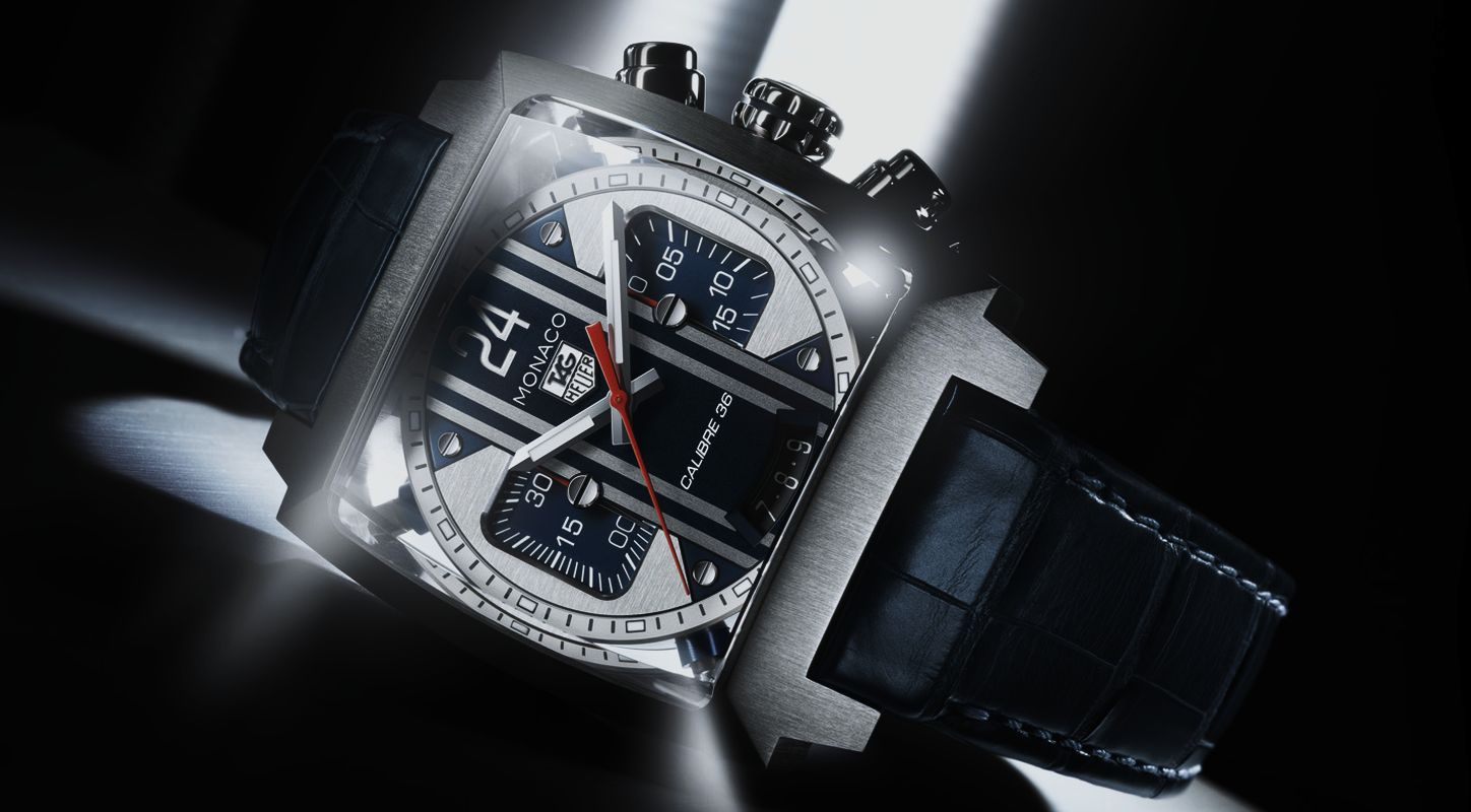 The Cool and Masculine Fake Tag Heuer Monaco Twenty Four Calibre 36 Chronograph Watch