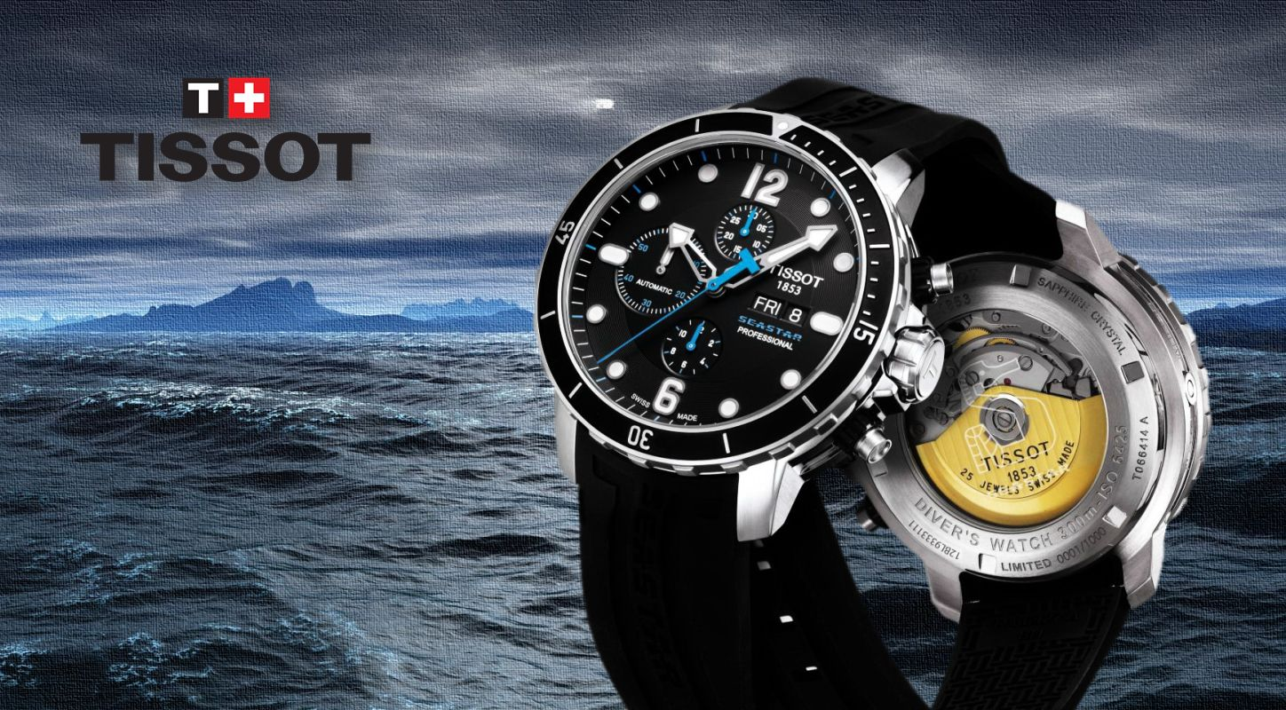 Tissot SeaStar 1000 Chronograph watch replica