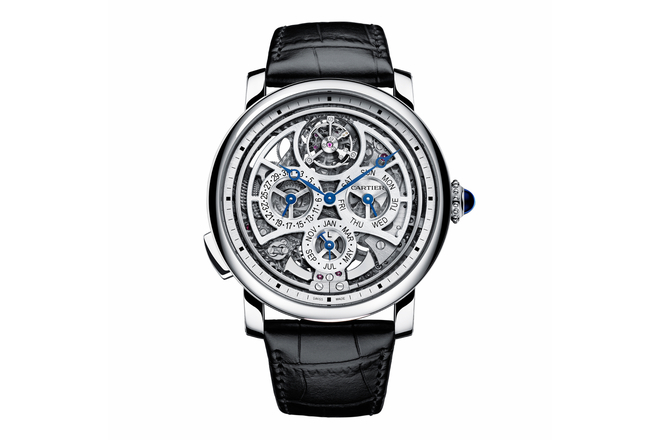 Cartier Rotonde de Cartiaer Grande Complication Skeleton