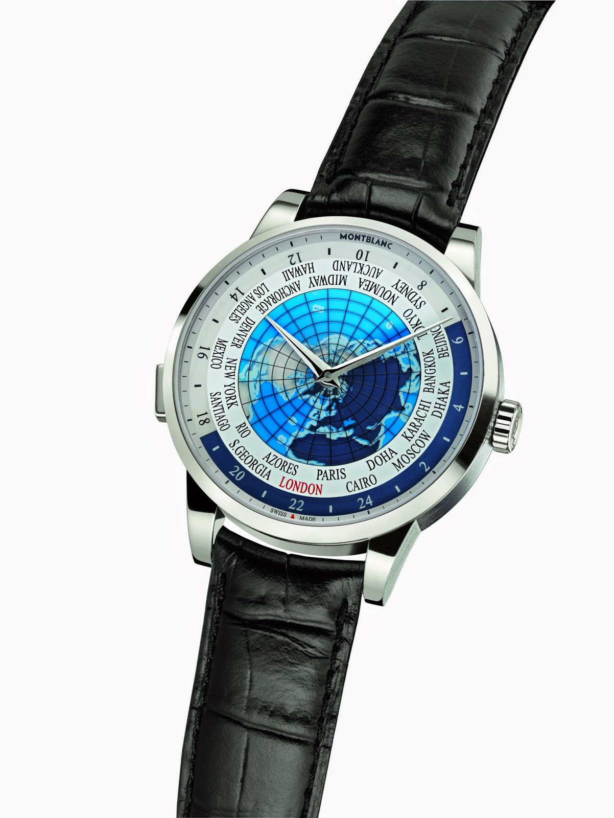 Montblanc Heritage Spirit Orbis Terrarum World watch replica