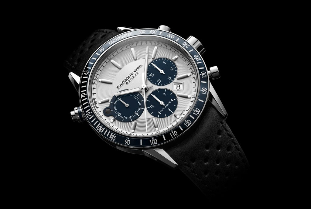 swiss made raymond weil freelancer chronograph automatic mens copy