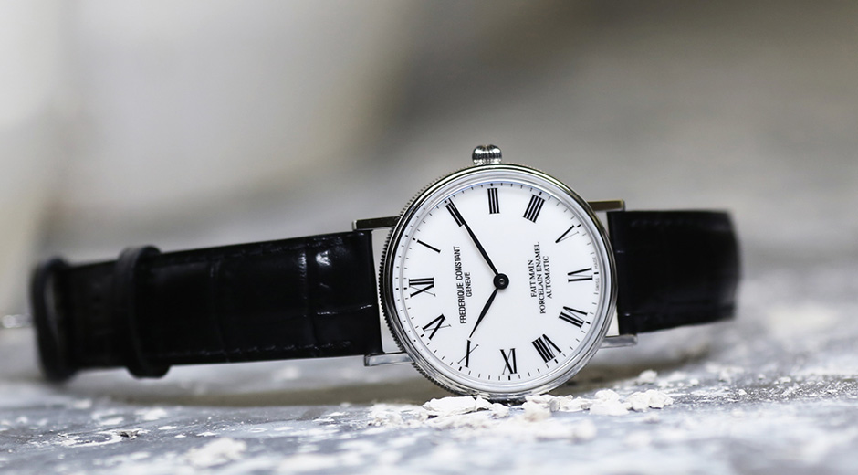 Frederique Constant Classics Art of Porcelain Replica