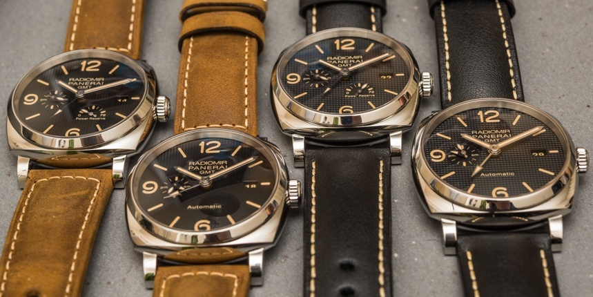 New Panerai Watches Explained Replica Radiomir 1940 3 Days GMT Automatic Watches For SIHH 2016 Hands-On Hands-On