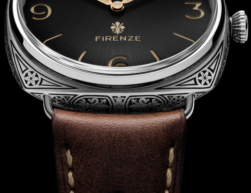 Panerai Radiomir Firenze 3 Days PAM672 Watch With Engraved Case & Movement Watch Releases