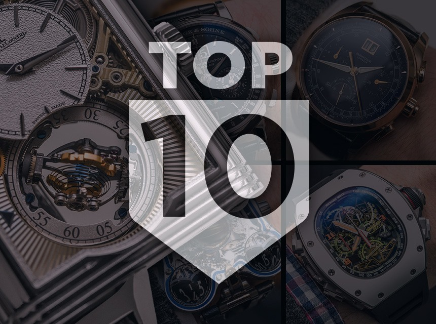 Top 10 Watches Of SIHH 2016 & Show Report ABTW Editors' Lists