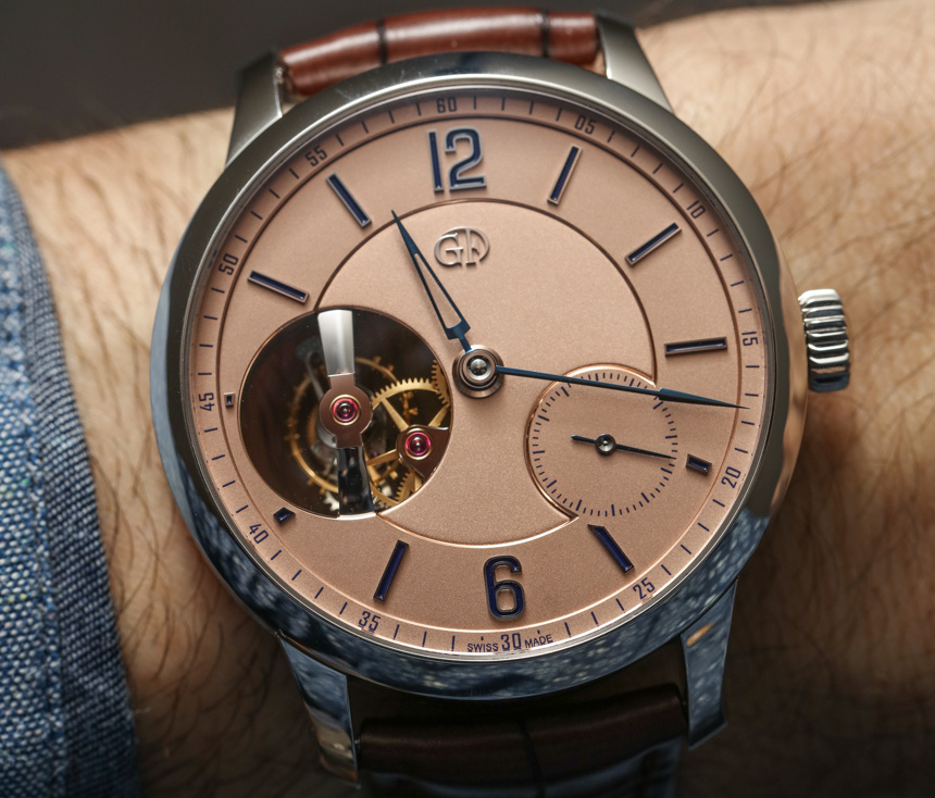 Greubel Forsey Tourbillon 24 Secondes Vision Salmon Dial Watch Hands-On Hands-On