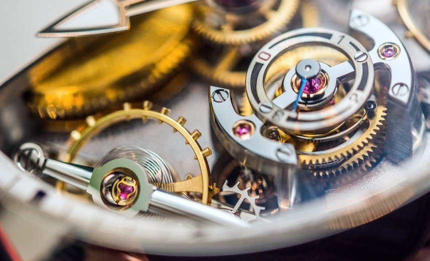 Greubel Forsey Double Balancier À Différentiel Constant Watch Hands-On Hands-On