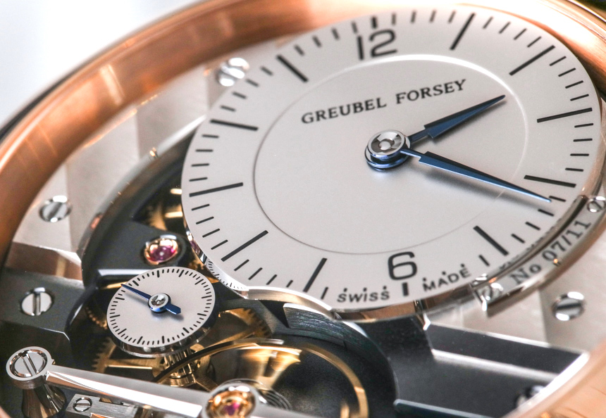 Greubel Forsey Signature 1 Limited Edition Steel Blue For USA & Red Gold Watches Hands-On Hands-On