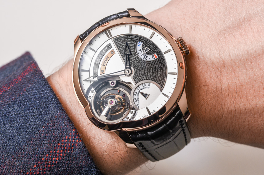 Greubel Forsey Tourbillon 24 Secondes Edition Historique Watch Hands-On Hands-On