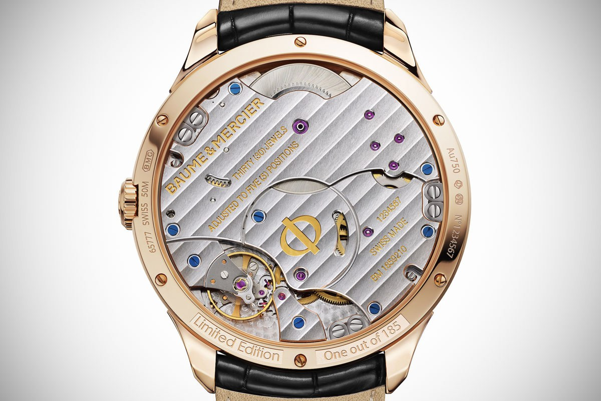 Baume & Mercier Clifton 8-Day Power Reserve - 4