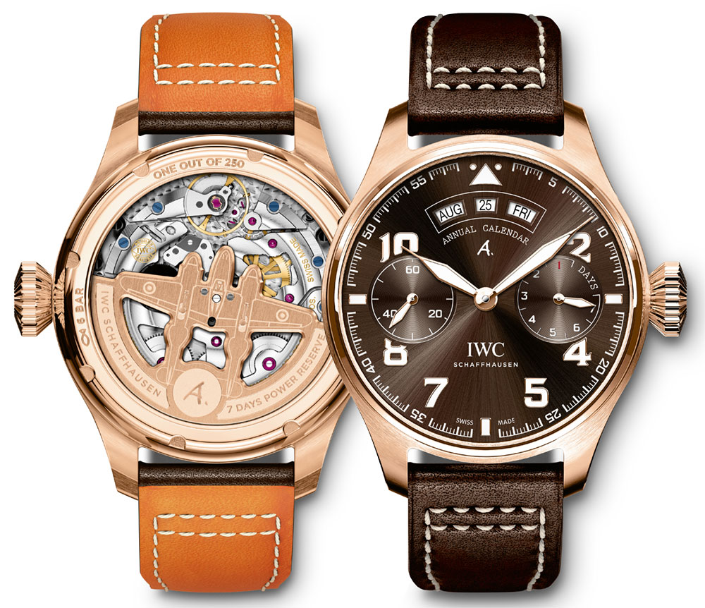 IWC Big Pilot's Watch Annual Calendar Edition 'Antoine De Saint Exupéry' Watch Watch Releases