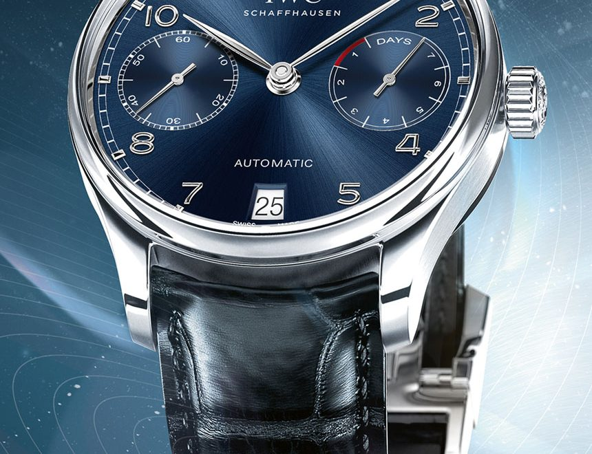 IWC Portugieser Blue Dial Watches Watch Releases