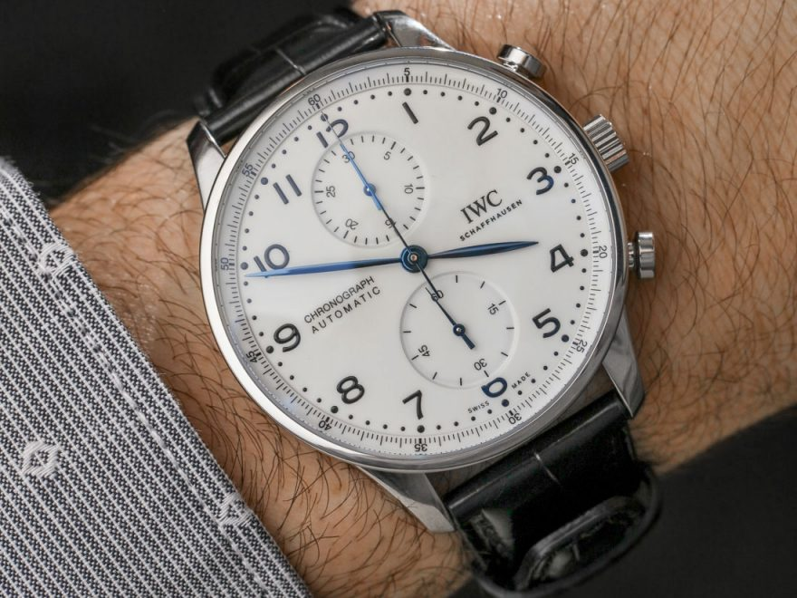 IWC Portugieser Chronograph Edition '150 Years' Watch Hands-On Hands-On